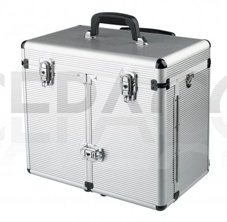 0150391 WINDOWS Valise aluminium avec trolley 27x34x43cm