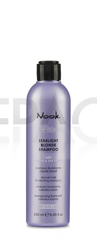 NOOK Bfree Starlight Blonde Illuminating Shampoo 250ml