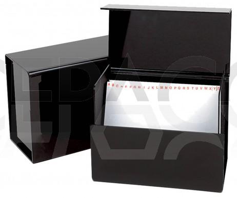 4420820 Boîte de rangement + fiches couleurs & permanentes