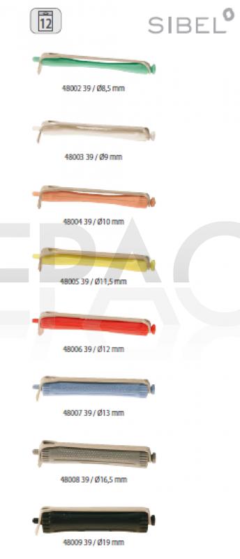 BIGOUDIS PERMANENTE CLASSIC LONGS- longueur 80MM