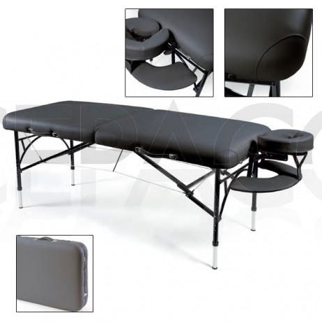 SUNSET Table de massage portable à structure en aluminium
