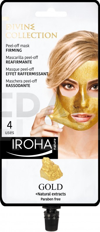 IROHA Peel-off mask FIRMING - DIVINE COLLECTION