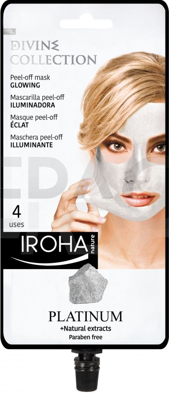 IROHA Peel-off mask GLOWING - DIVINE COLLECTION