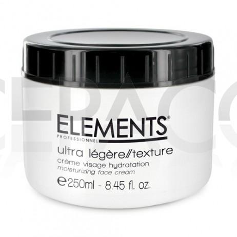 ELEMENTS Crème Visage Hydratation Longue Durée 250ml