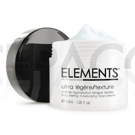 ELEMENTS Crème Visage Hydratation Longue Durée 40ml