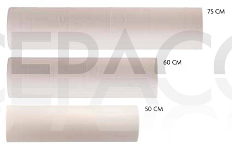 Rouleaux de draps de protection - 50 - 60 - 75cm