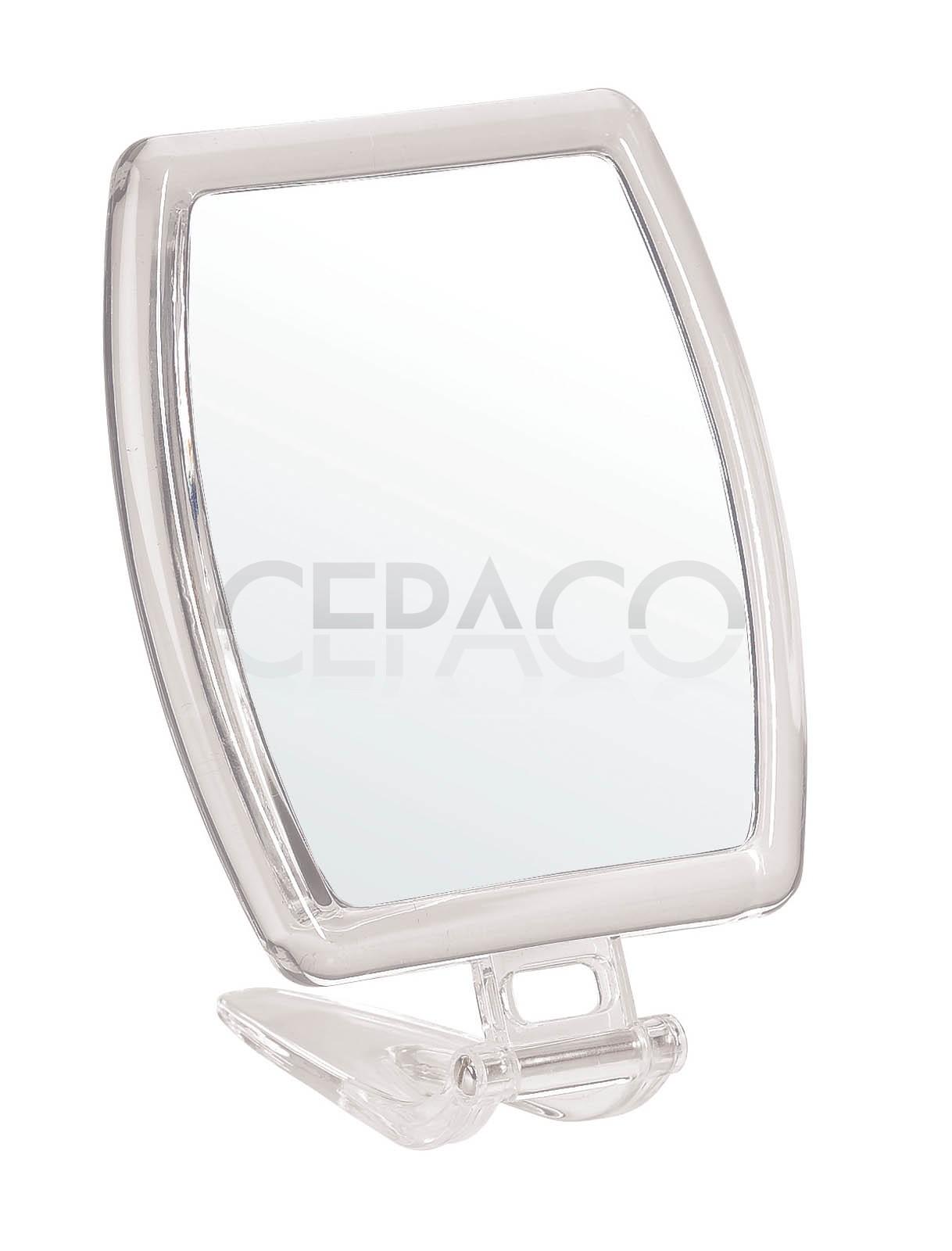 Miroir acrylique double face 15 7x13 5cm cepaco le for Double face pour miroir