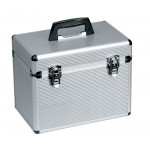 0150351 Alux Beauty Case aluminium 23x29x36cm