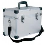 0150491 COMPACT Valise croco économique en aluminium 20x27x38cm