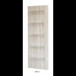 0189130 VENISE Présentoir de vente. Structure en bois clair avec 5 étagères en polyglass