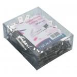 9340237 CLIP METAL DOUBLE 100 PCS