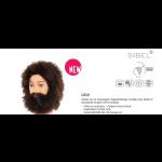 0041002 Tête d'apprentissage Gustav avec barbe châtain