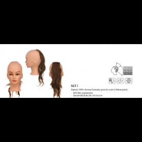 0040021 Rajouts 100% cheveux humains Back 2