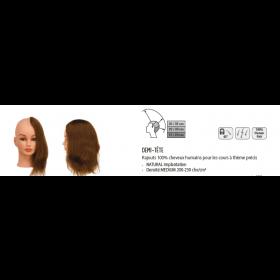 0040091 Rajouts 100% cheveux humains demi-tête