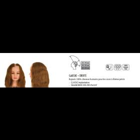 0040121 Rajouts 100% cheveux humains gauche & droit