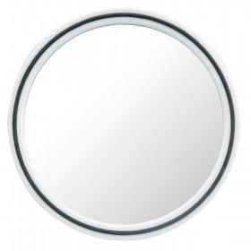 013073101 MAGIC Miroir blanc rond avec poignée Ø22cm