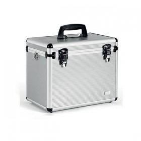 0150355 Alux L Beauty Case aluminium 25.2x32x42.3cm