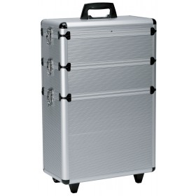 0150431 MODULAR  Valise aluminium à 3 niveaux 22x65x43cm