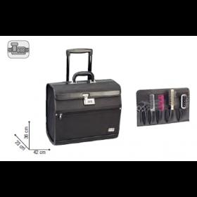 0150651 PILOTROL Valise à roulettes 23x36x42cm
