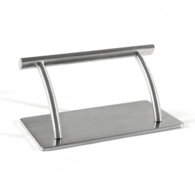 BASIS Repose-pied en inox