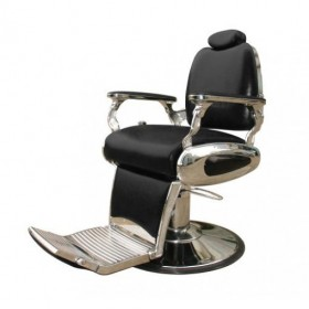 ARROW Fauteuil Barbier Arrow Pompe Hydraulique Noir