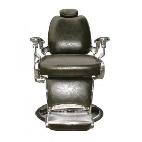 ARROW Fauteuil Barbier Arrow Pompe Hydraulique Vert