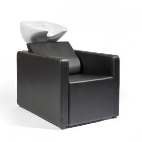 0190402 RELAXATIO Bac de lavage complet noir