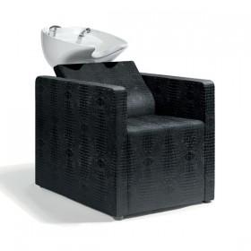 0190492 RELAXATIO Bac de lavage complet croco noir