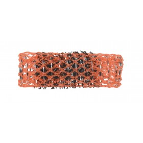 2122239 BIGOUDIS BROSSE 22MM 12 PCS ORANGE