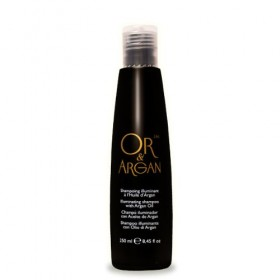 OR & ARGAN Shampooing illuminant Or 24k & Huile d'Argan 250ml