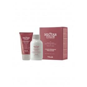 NO 27132  NOOK NECTAR COLOR Kit Color Preserve Cheveux épais (Shampoo 100ml & conditioner 50ml)