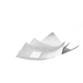 3400853 Feuilles d'aluminium avec éponge synthétique pour dissoudre le gel à ongles 500pcs