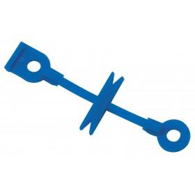4020023  50 ELAXTICOOL Bleu Elastiques permanente en silicone 72 mm