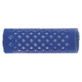 4122149 BIGOUDIS VELOURS 21MM 12 PCS BLEU
