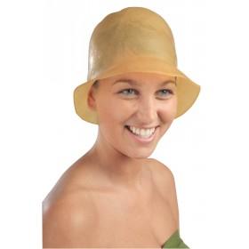 4415300 LILIBROWN Bonnet mèches caoutchouc marron