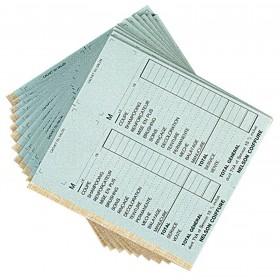 Carnets de caisse avec doubles sans numéros, vendus par 10