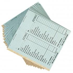 Carnets de caisse avec doubles avec numéros, vendus par 10