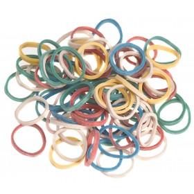 4432950  500 Mini Elastiques Coloris assortis