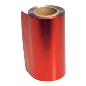 4482105 COLOR Papier aluminium rouge 12 cm x 100 m épaisseur 15 ?.