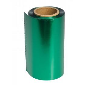 4482107 COLOR Papier aluminium vert 12 cm x 100 m épaisseur 15 µ