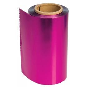 4482108 COLOR Papier aluminium fuchsia 12 cm x 100 m épaisseur 15 µ
