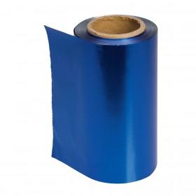 4482110 COLOR Papier aluminium bleu 12 cm x 100 m épaisseur 15 µ