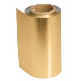 4482120 COLOR Papier aluminium or 12 cm x 100 m épaisseur 15 µ