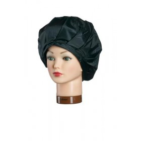 501093202 Bonnet permanente en plastique avec fermeture velcro noir