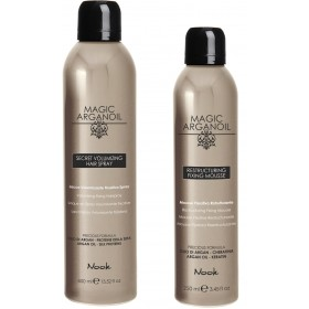 NO 537  MAGIC ARGANOIL Secret Restructuring Fixing Mousse 250ml