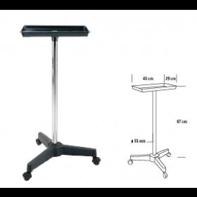 6000779 MAEVA table de service rectangulaire noire