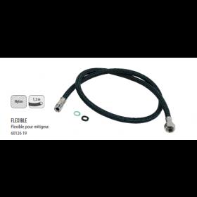 6012619 FLEXIBLE pour mitigeur noir 1.20m