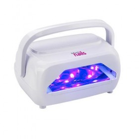 6101014 Lampe LED et UV pour ongles portable & rechargeable 24 watts