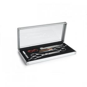 kit Centrax 2 ciseaux 5.5 DROITIER + 1 rasoir