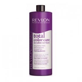 TOTAL COLOR CARE Shampoing Protecteur de couleur sans Sulfate FOR BLONDES 1000ml